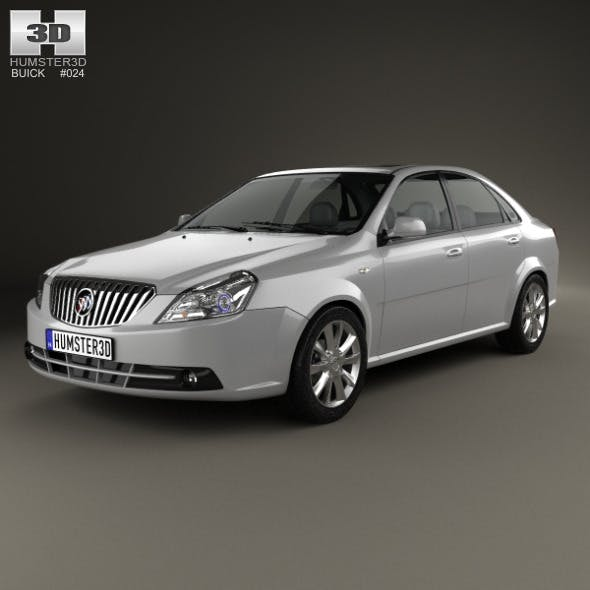 Buick Excelle 2013 - 3DOcean Item for Sale