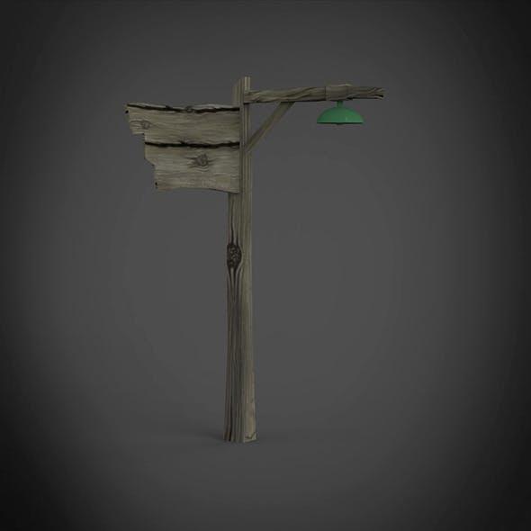 Instruction pole