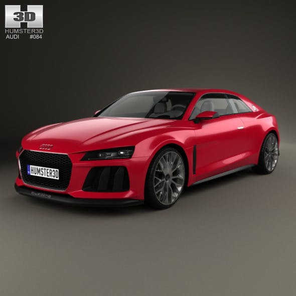 Audi Sport Quattro Laserlight 2014 By Humster3d