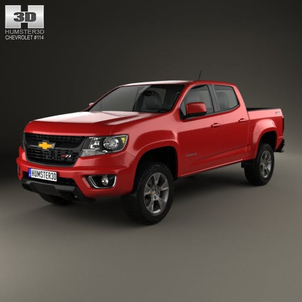 Chevrolet Colorado Double Cab 2014 - 3DOcean Item for Sale
