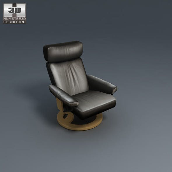 Orion Chair - Ekornes Stressless - 3D Model.