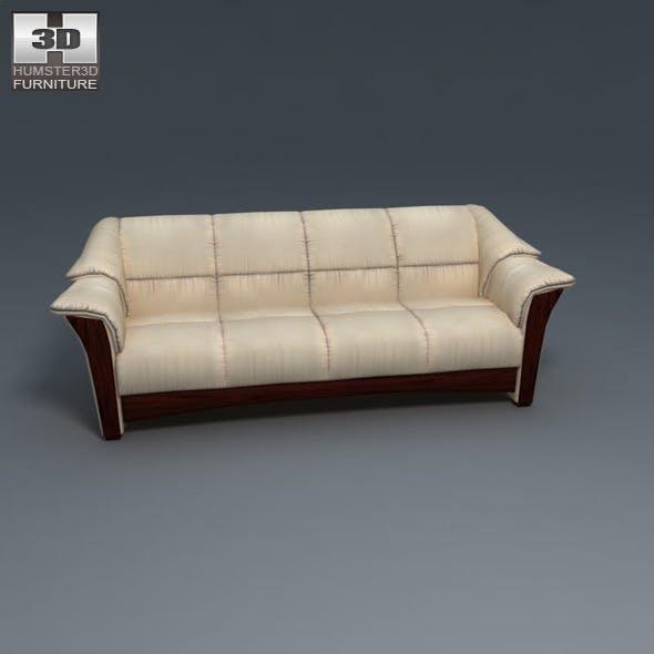 Oslo sofa - Ekornes Stressless - 3D Model.