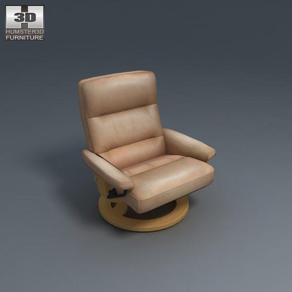 Pacific Chair - Ekornes Stressless - 3D Model.  - 3DOcean Item for Sale
