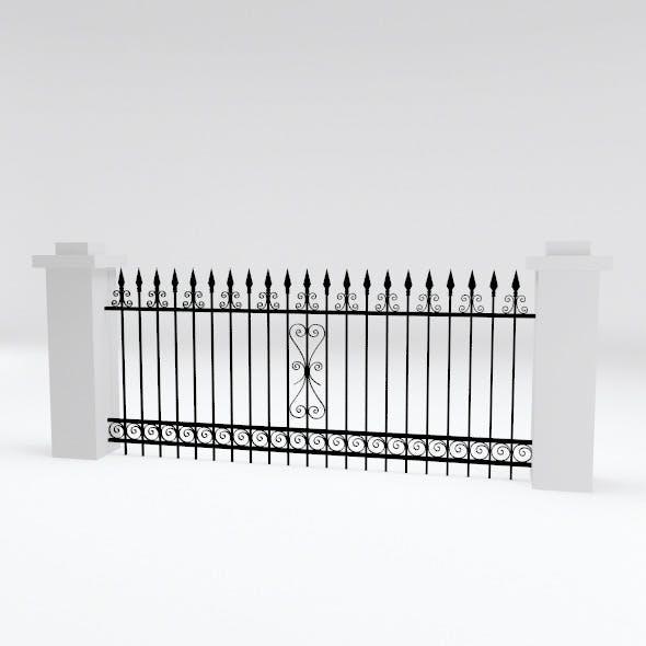 Fence-1 - 3DOcean Item for Sale