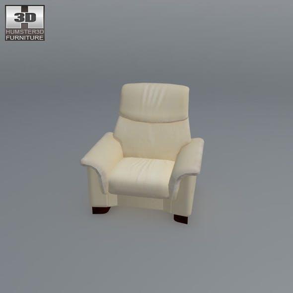 Paradise chair - Ekornes Stressless - 3D Model.