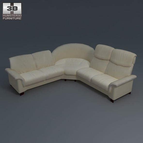 Paradise corner sofa - Ekornes Stressless - 3DOcean Item for Sale