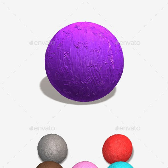 Thick Gloss Seamless Texture 11 Colours