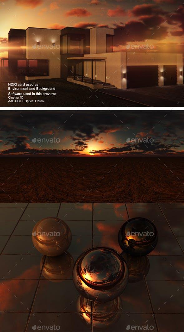 Sunset Desert 10 - 3DOcean Item for Sale