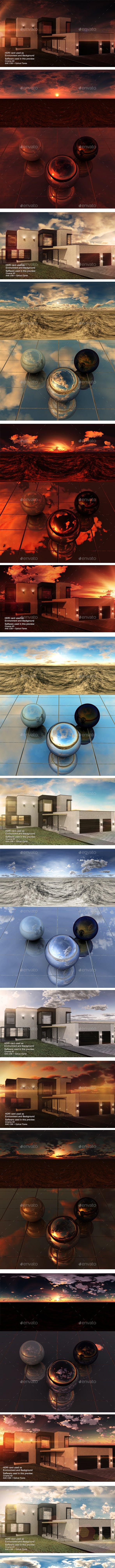 HDRI Pack - Desert vol1 - 3DOcean Item for Sale