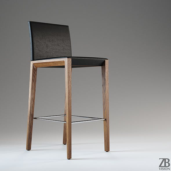 Walter Knoll Andoo Barstool 1144 - 3DOcean Item for Sale