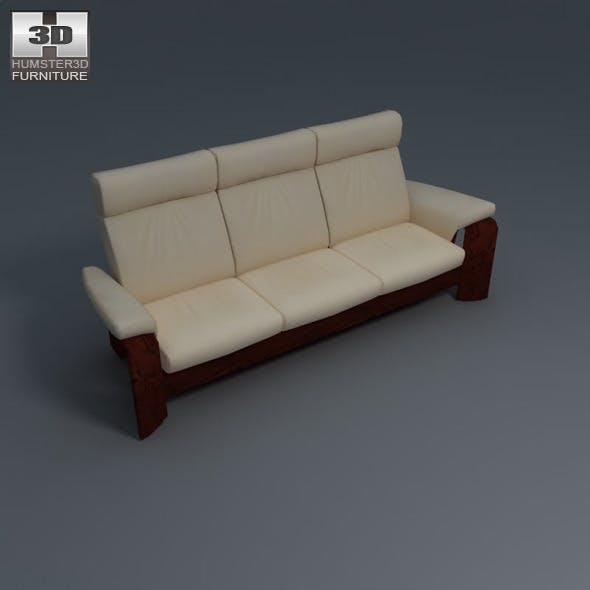 Pegasus 3-seat sofa - Ekornes Stressless - 3DOcean Item for Sale