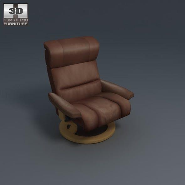Savannah armchair - Ekornes Stressless - 3DOcean Item for Sale