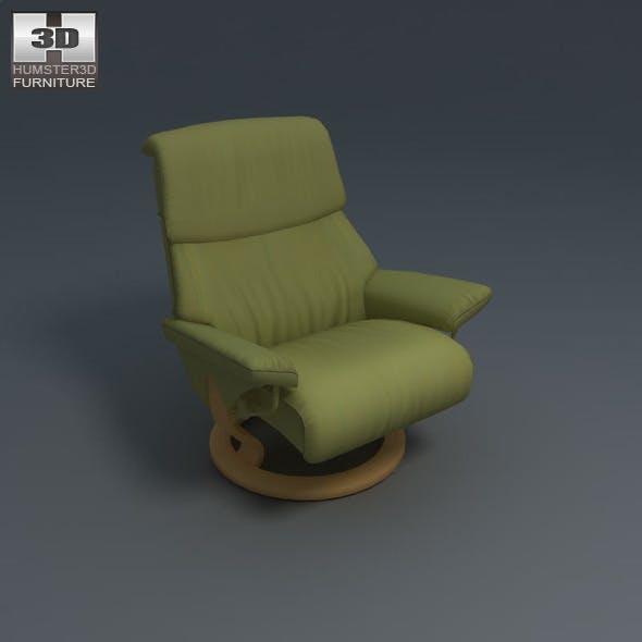 Spirit Chair - Ekornes Stressless - 3D Model. - 3DOcean Item for Sale