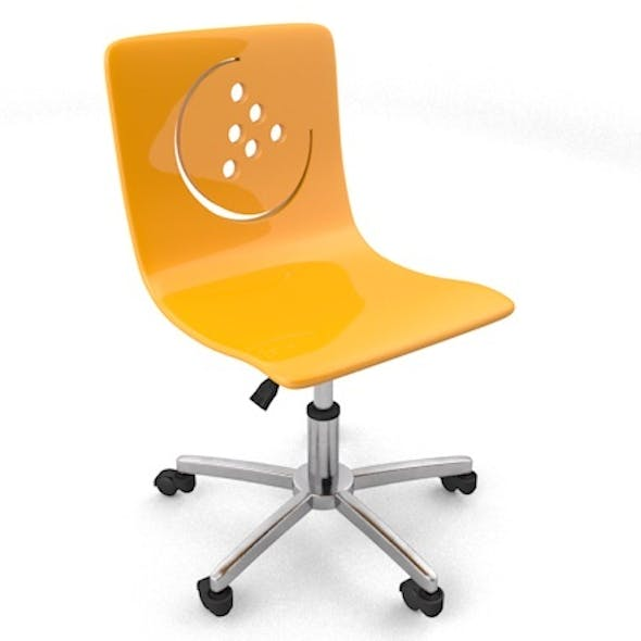 modern child room chair