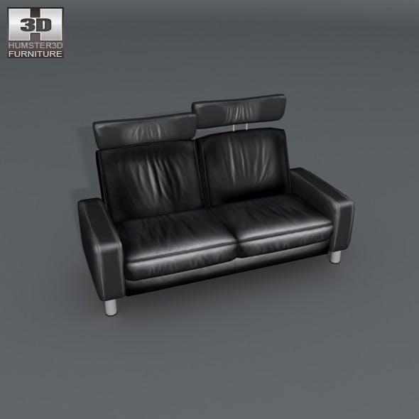 Space 2-seat sofa high back - Ekornes Stressless - 3DOcean Item for Sale