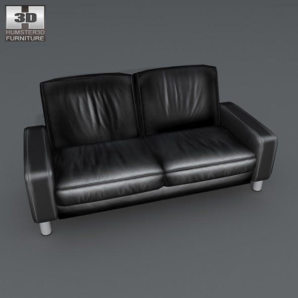 Space 2 seat sofa - Ekornes Stressless - 3D Model. - 3DOcean Item for Sale