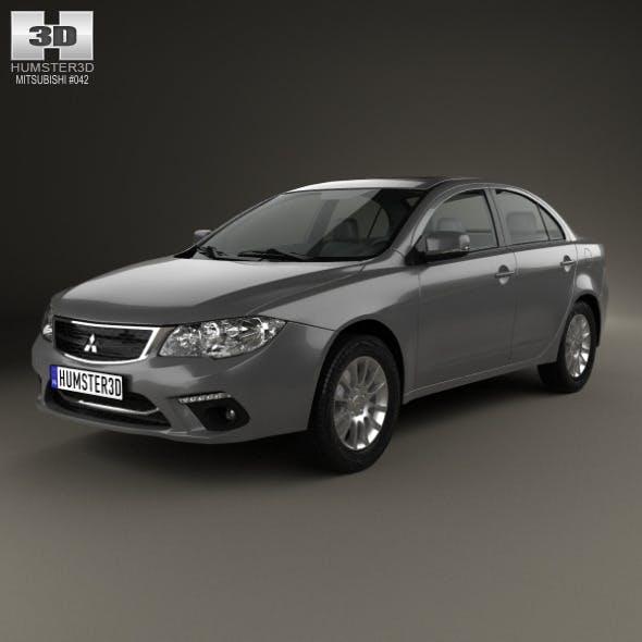 Mitsubishi Lancer Fortis 2013 - 3DOcean Item for Sale
