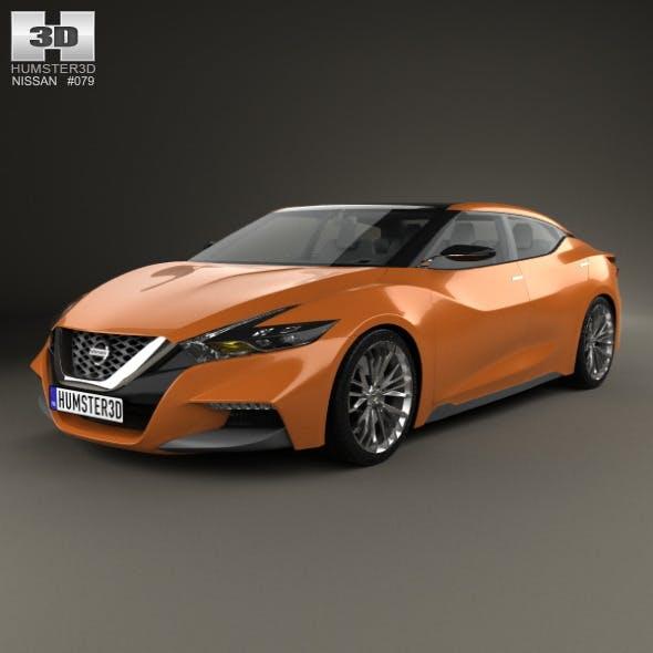 Nissan Sport Sedan 2013 - 3DOcean Item for Sale