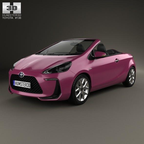 Toyota Aqua Air 2013 - 3DOcean Item for Sale