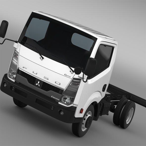 Mitsubishi Fuso Canter Guts Chassi 2015