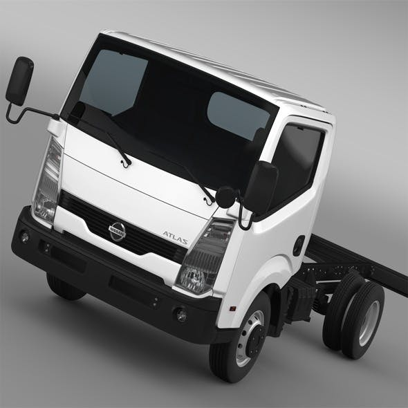 Nissan Atlas Chassi 2013 - 3DOcean Item for Sale