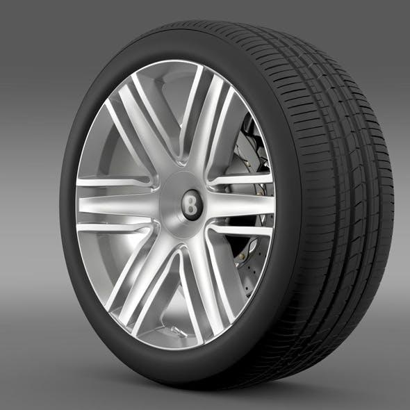 Bentley Continental GTC 2015 wheel