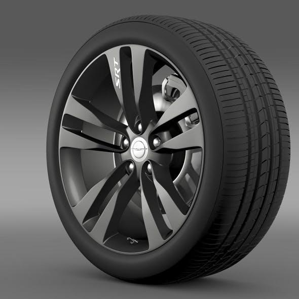 Chrysler 300 SRT8 Satin Vapor wheel - 3DOcean Item for Sale