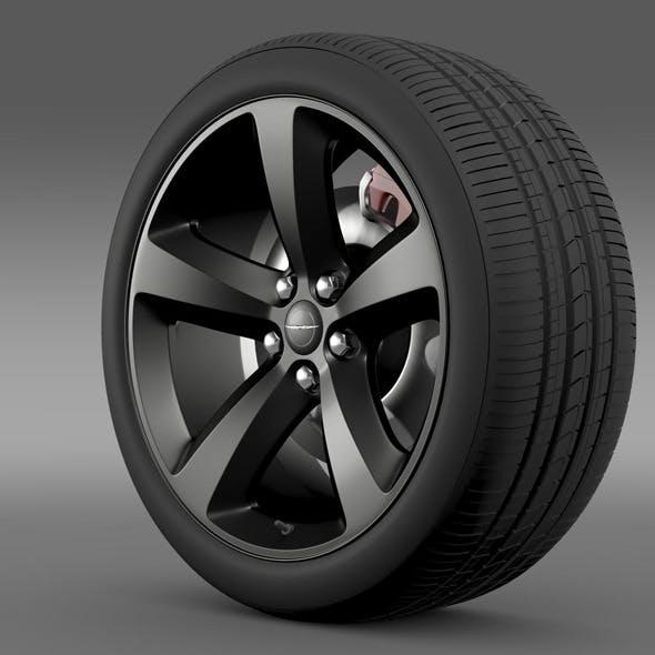 Chrysler 300S wheel - 3DOcean Item for Sale