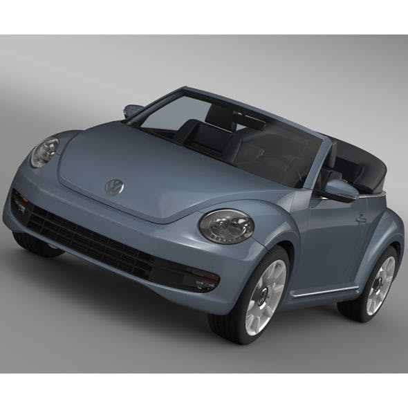 VW Beetle Cabriolet Denim Concept 2015