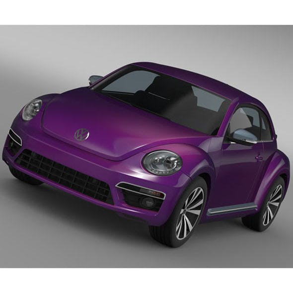 VW Beetle Pink Edition Concept 2015