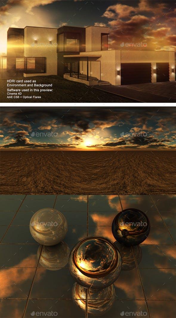 Sunset Desert 11 - 3DOcean Item for Sale