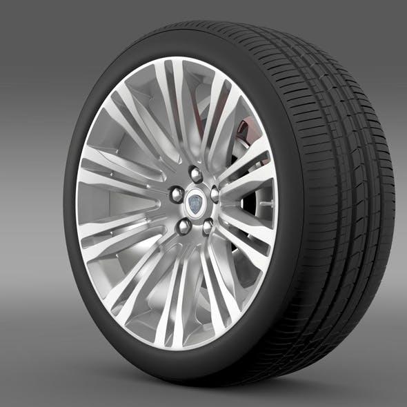 Lancia Thema 2014 wheel - 3DOcean Item for Sale