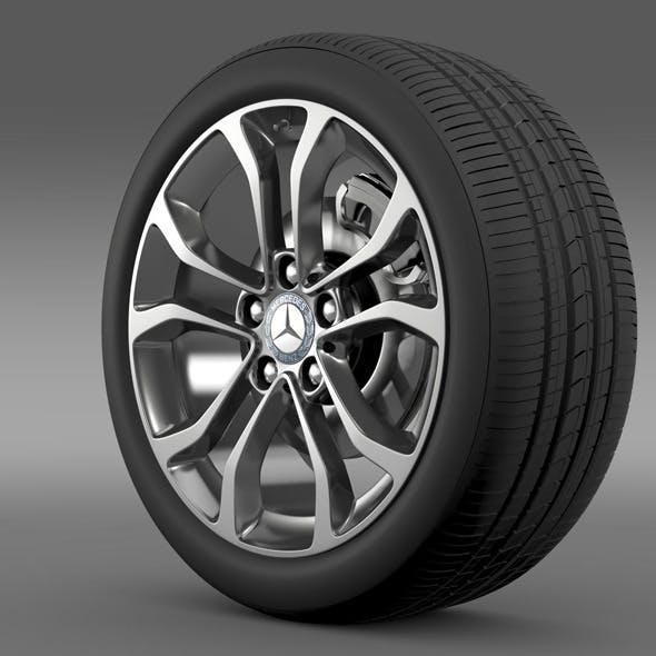 Mercedes Benz C 220 wheel - 3DOcean Item for Sale