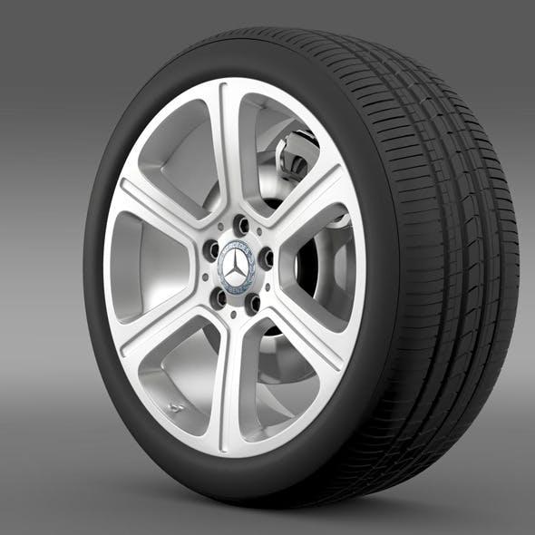 Mercedes Benz C 300 Exclusive line wheel - 3DOcean Item for Sale
