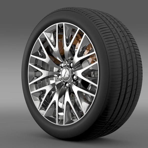 Mitsubishi Dignity wheel - 3DOcean Item for Sale