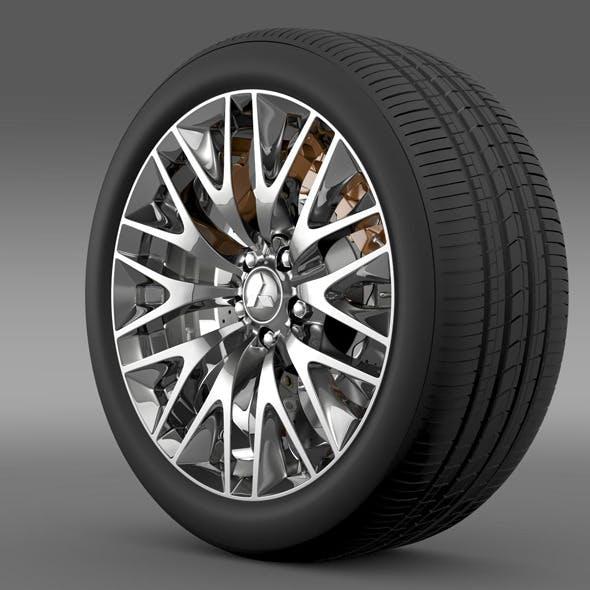 Mitsubishi Dignity wheel
