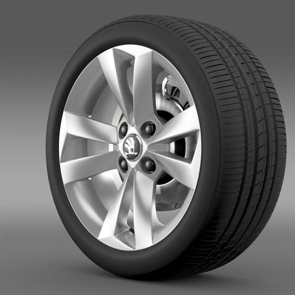 Skoda Citigo wheel