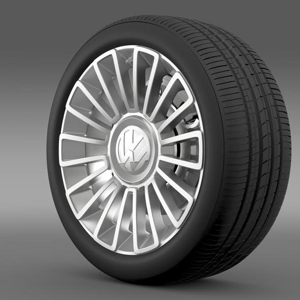 Volkswagen UP wheel - 3DOcean Item for Sale