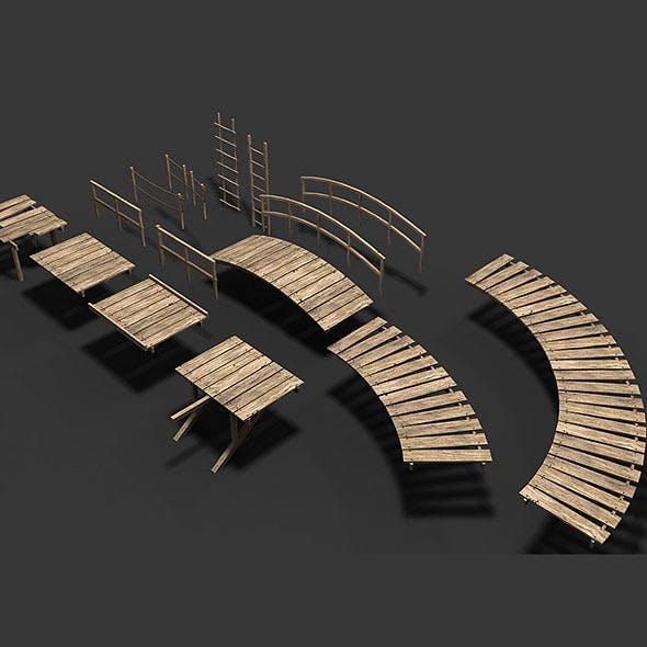 Modular Wood Walkway or Jetty Part 2