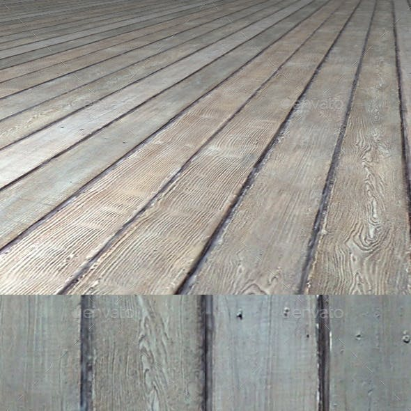 Old Wooden Planks Seamless Texture