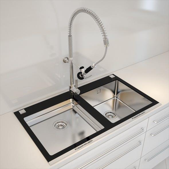 Kuppersbusch Kitchen Sink - 3DOcean Item for Sale