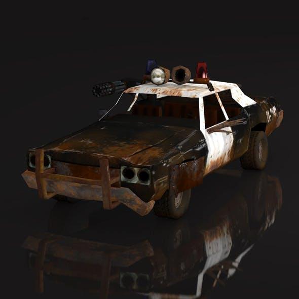 postapo Dodge Monaco - police (1974), LOW POLY - 3DOcean Item for Sale