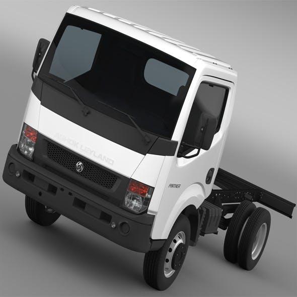 Ashok Leyland Partner Chassi 2015 - 3DOcean Item for Sale