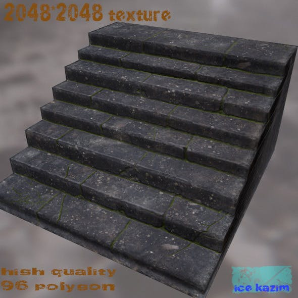 stairs - 3DOcean Item for Sale