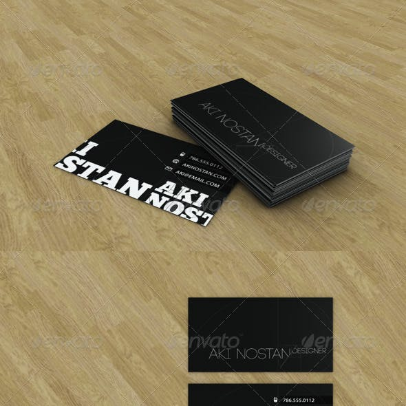 Business Card Presentation