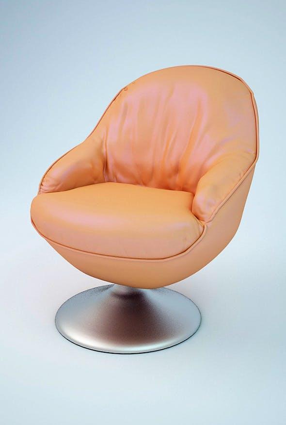 Lacky armchair - 3DOcean Item for Sale
