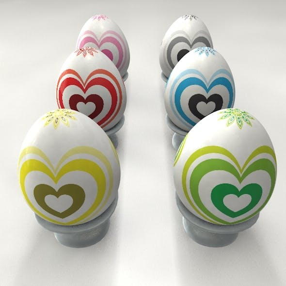 Easter Stone Egg - 3DOcean Item for Sale