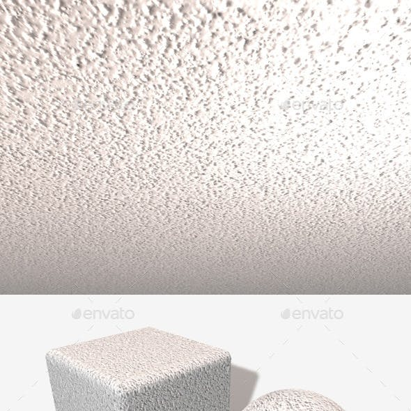 Textured Ceiling Plaster Seamless Texture