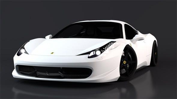 Ferrari 458 Italia - 3DOcean Item for Sale