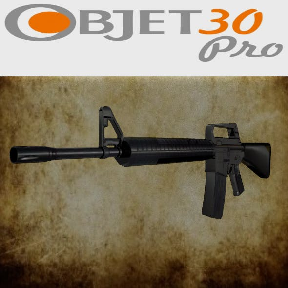 M-16 low-poly  - 3DOcean Item for Sale